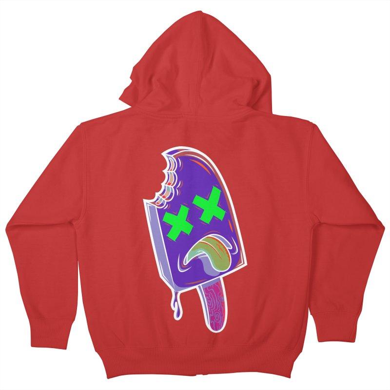 UnDeadsicle Kids Zip-Up Hoody by inbrightestday's Artist Shop