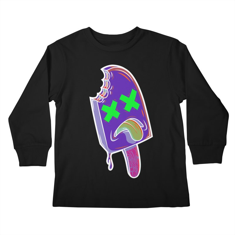 UnDeadsicle Kids Longsleeve T-Shirt by inbrightestday's Artist Shop