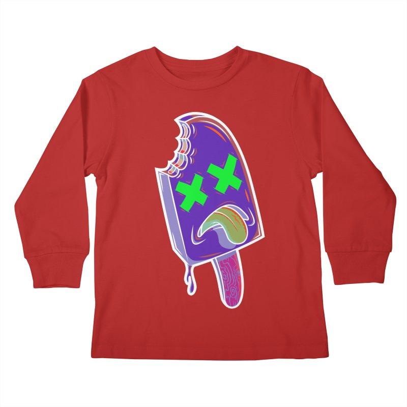 UnDeadsicle Kids Longsleeve T-Shirt by inbrightestday's Artist Shop