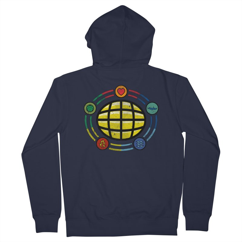 The Power is Yours!!! Men's French Terry Zip-Up Hoody by inbrightestday's Artist Shop