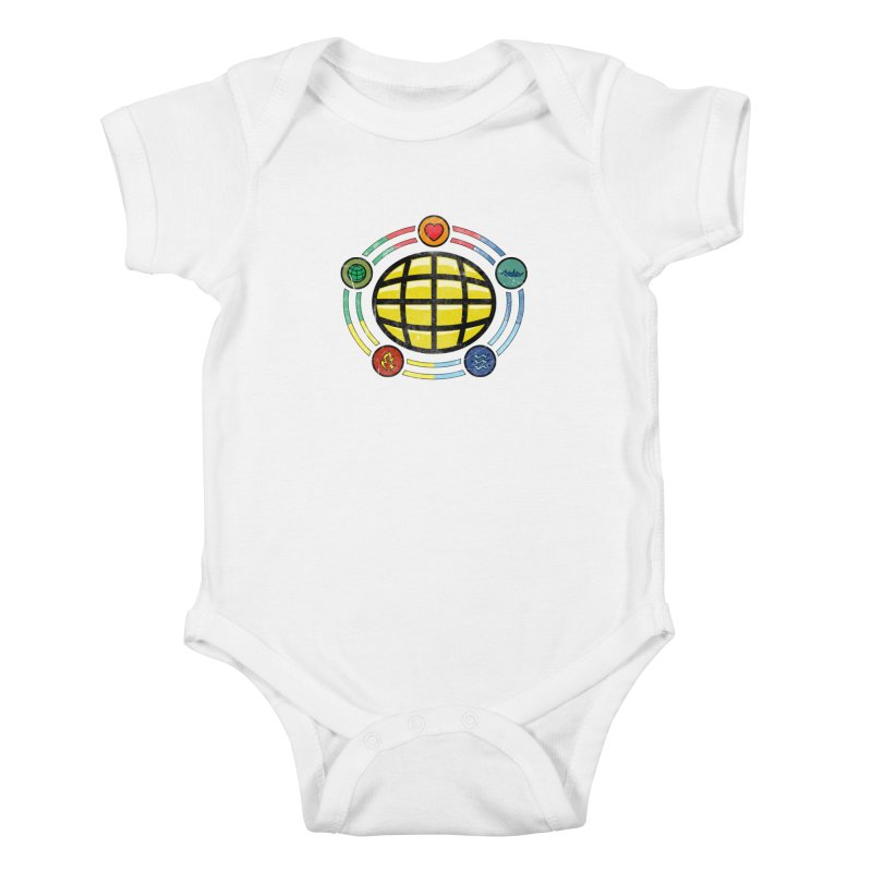 The Power is Yours!!! Kids Baby Bodysuit by inbrightestday's Artist Shop