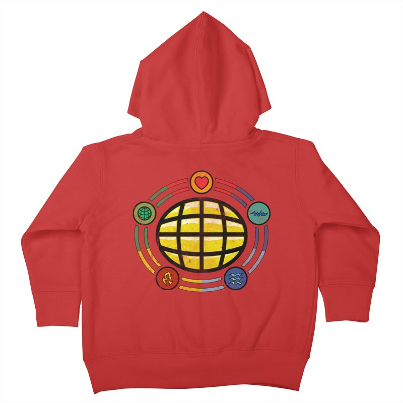 The Power is Yours!!! Kids Toddler Zip-Up Hoody by inbrightestday's Artist Shop