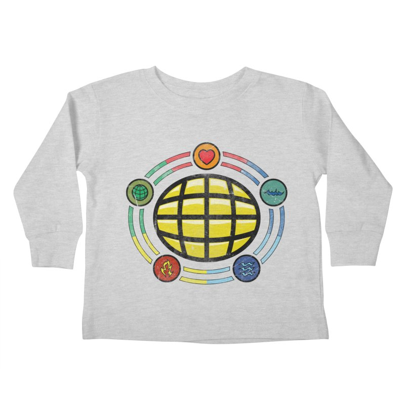 The Power is Yours!!! Kids Toddler Longsleeve T-Shirt by inbrightestday's Artist Shop