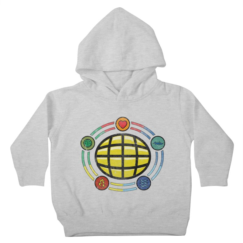 The Power is Yours!!! Kids Toddler Pullover Hoody by inbrightestday's Artist Shop