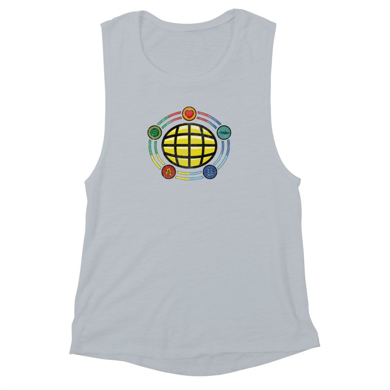 The Power is Yours!!! Women's Muscle Tank by inbrightestday's Artist Shop