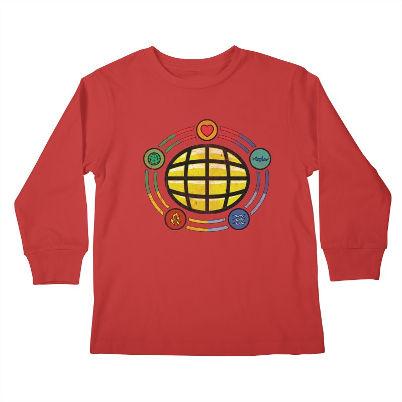 The Power is Yours!!! Kids Longsleeve T-Shirt by inbrightestday's Artist Shop