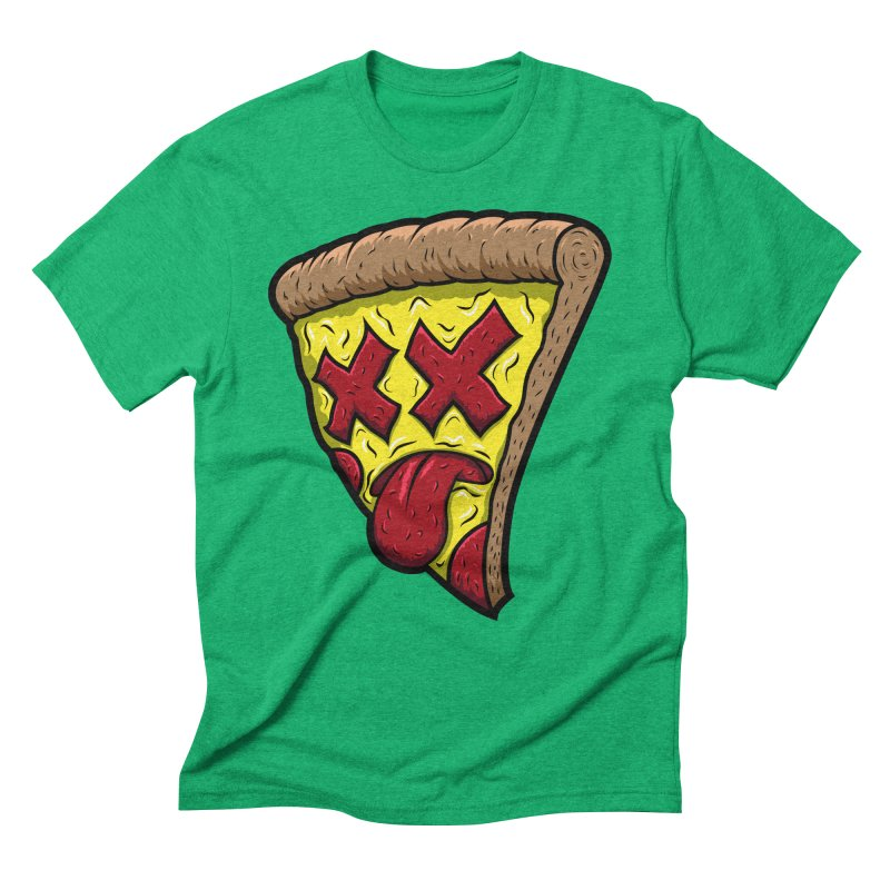 Dead Slice Men's Triblend T-Shirt by inbrightestday's Artist Shop