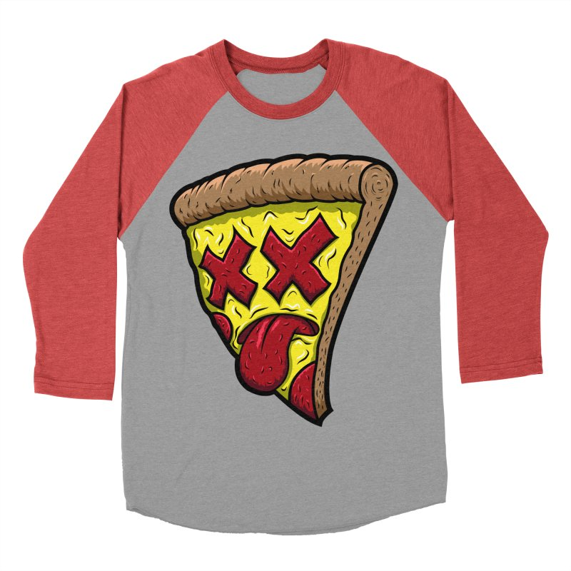 Dead Slice Women's Baseball Triblend T-Shirt by inbrightestday's Artist Shop