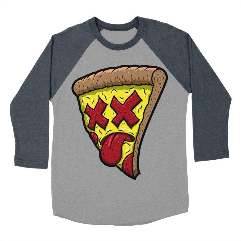Dead Slice Men's Baseball Triblend Longsleeve T-Shirt by inbrightestday's Artist Shop