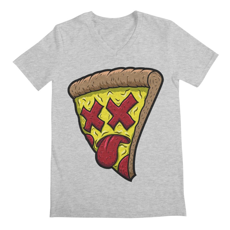 Dead Slice Men's V-Neck by inbrightestday's Artist Shop