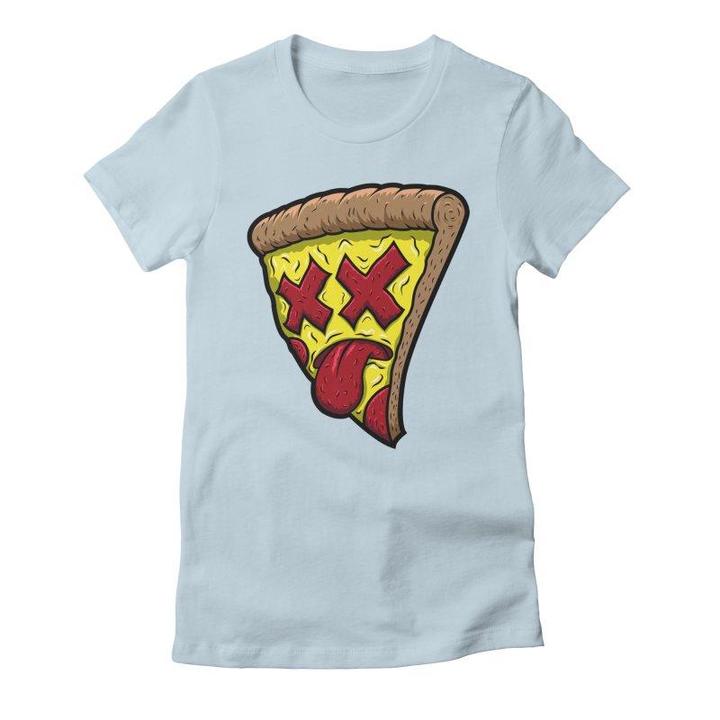 Dead Slice Women's Fitted T-Shirt by inbrightestday's Artist Shop