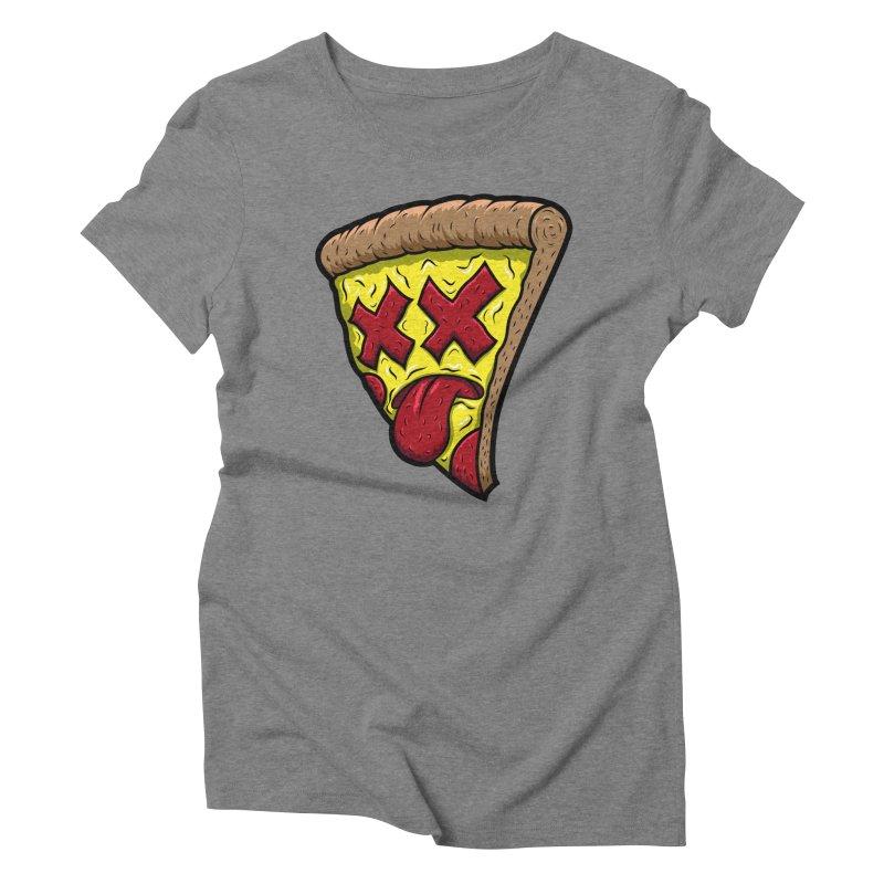Dead Slice Women's Triblend T-Shirt by inbrightestday's Artist Shop