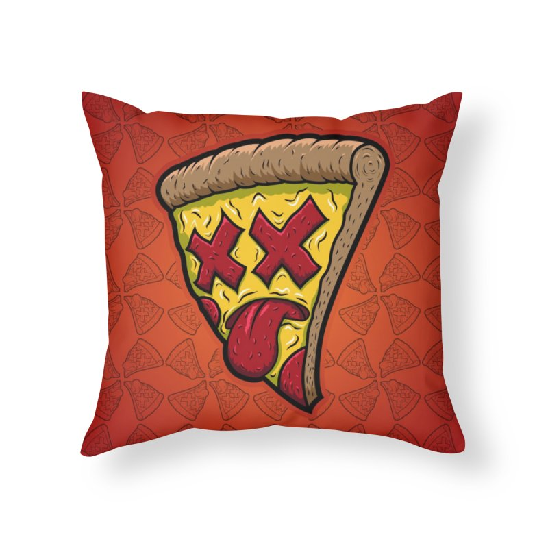 Dead Slice Home Throw Pillow by inbrightestday's Artist Shop