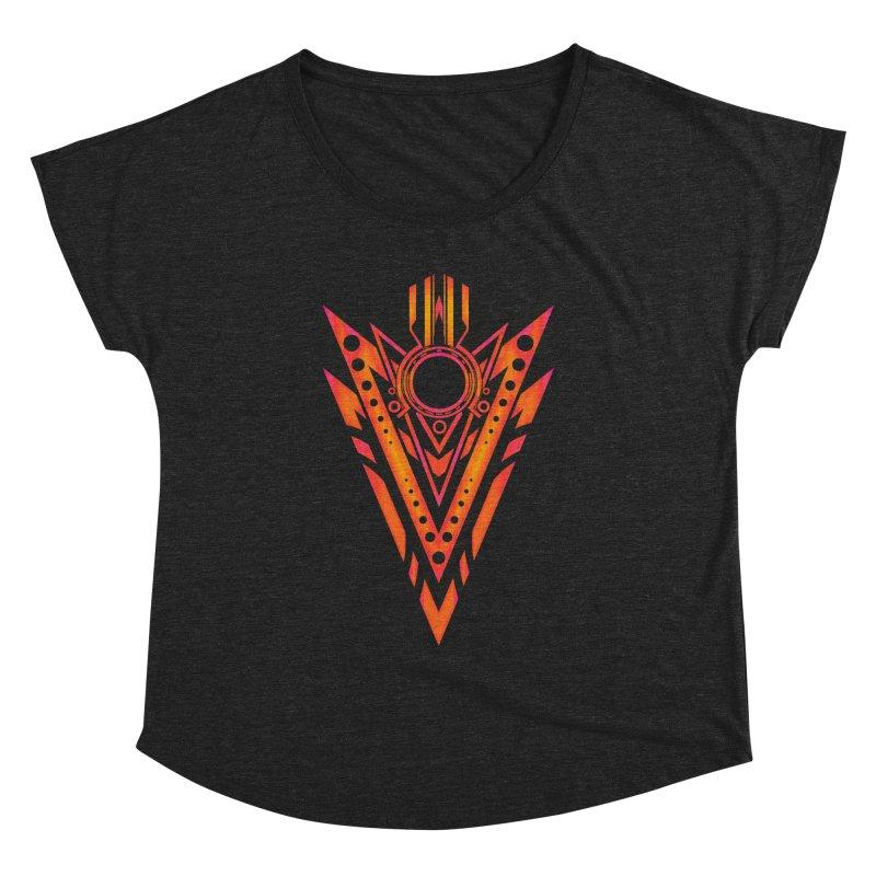 Blazing Fire Arrow Women's Dolman by inbrightestday's Artist Shop