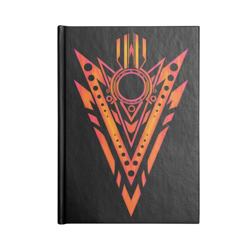 Blazing Fire Arrow Accessories Blank Journal Notebook by inbrightestday's Artist Shop