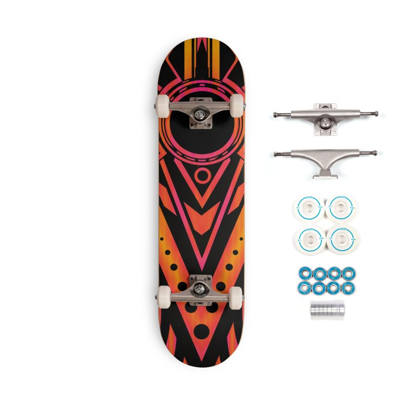 Blazing Fire Arrow Accessories Skateboard by inbrightestday's Artist Shop