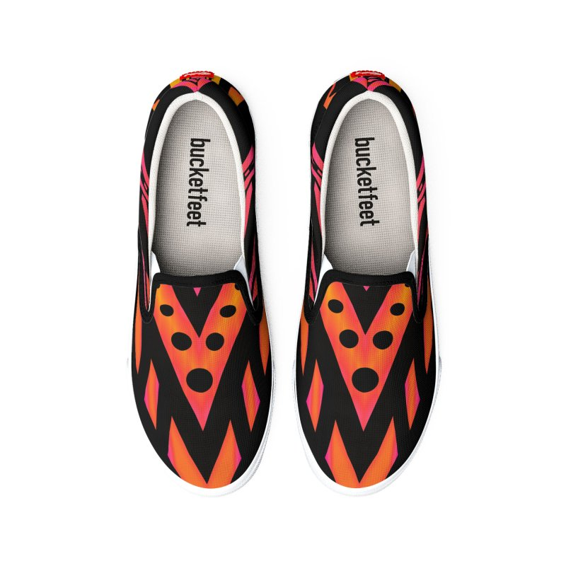 Blazing Fire Arrow Women's Shoes by inbrightestday's Artist Shop