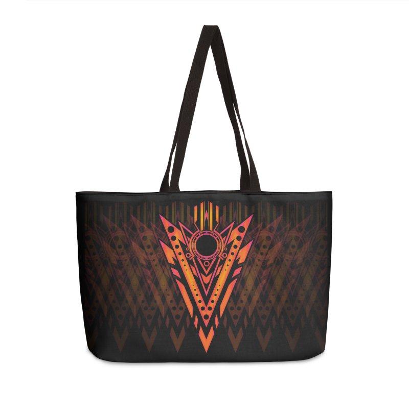 Blazing Fire Arrow Accessories Weekender Bag Bag by inbrightestday's Artist Shop