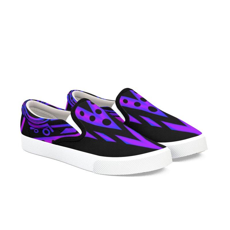 Soul Seeker Arrow Men's Slip-On Shoes by inbrightestday's Artist Shop