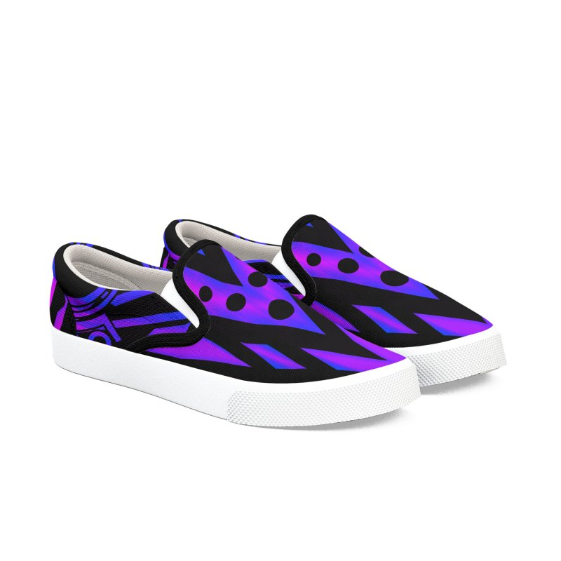 Soul Seeker Arrow Men's Slip-On Shoes by inbrightestday's Artist Shop