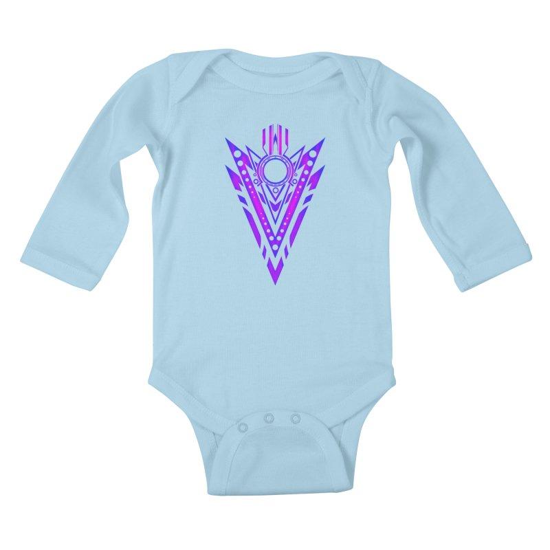Soul Seeker Arrow Kids Baby Longsleeve Bodysuit by inbrightestday's Artist Shop