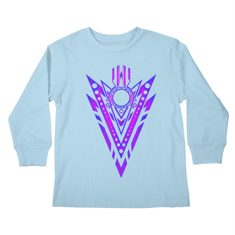 Soul Seeker Arrow Kids Longsleeve T-Shirt by inbrightestday's Artist Shop