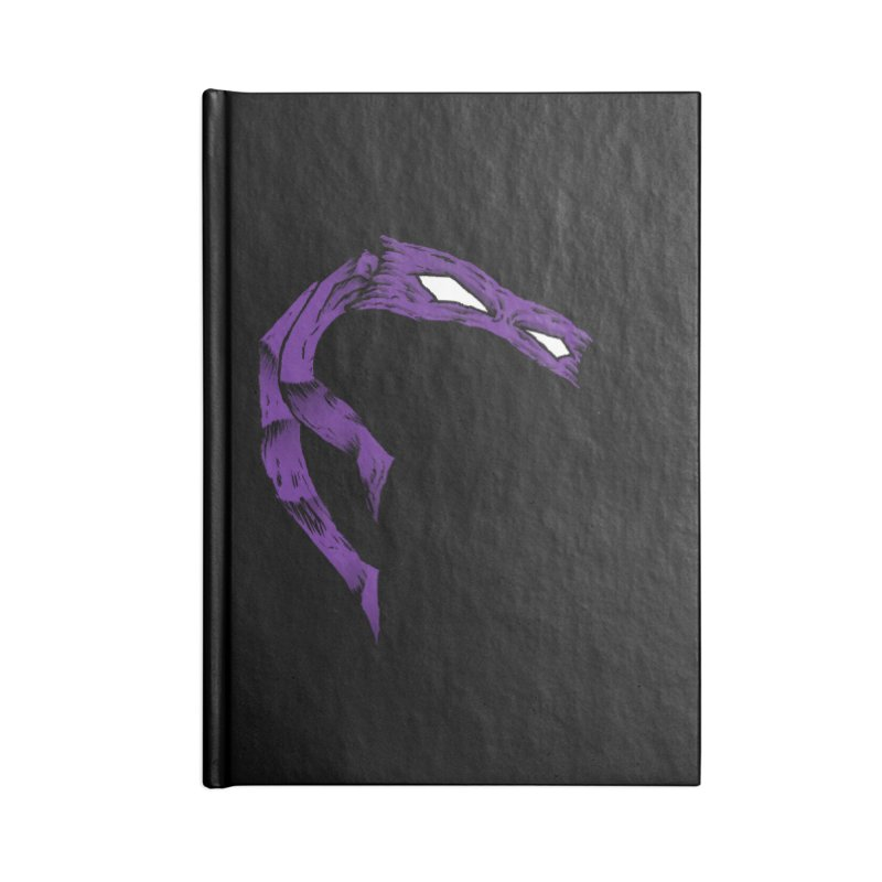 Donnie Accessories Blank Journal Notebook by inbrightestday's Artist Shop
