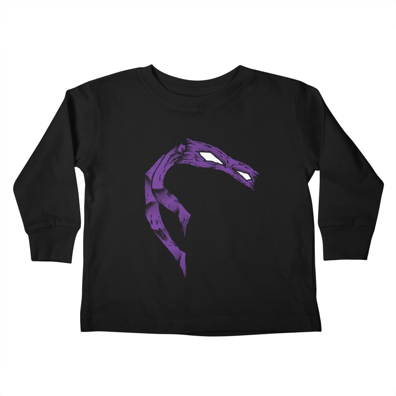 Donnie Kids Toddler Longsleeve T-Shirt by inbrightestday's Artist Shop