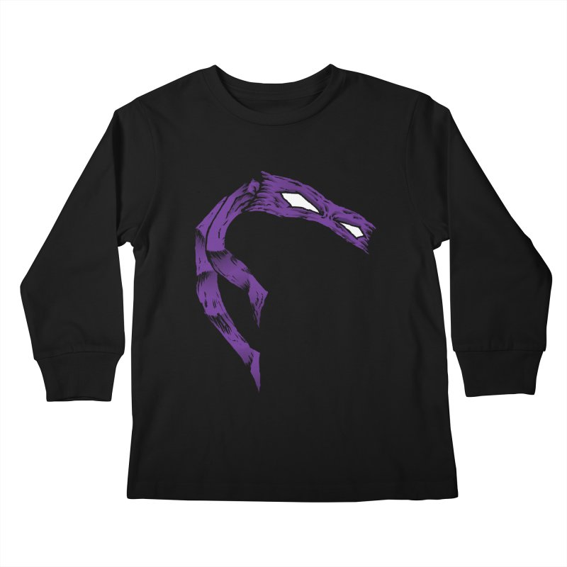 Donnie Kids Longsleeve T-Shirt by inbrightestday's Artist Shop