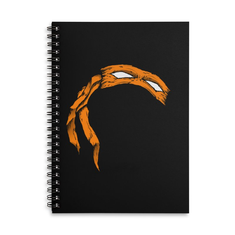 Mikey Accessories Notebook by inbrightestday's Artist Shop