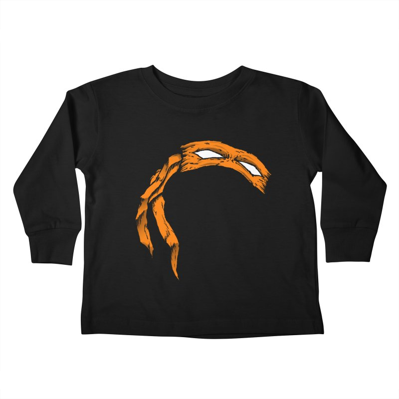 Mikey Kids Toddler Longsleeve T-Shirt by inbrightestday's Artist Shop