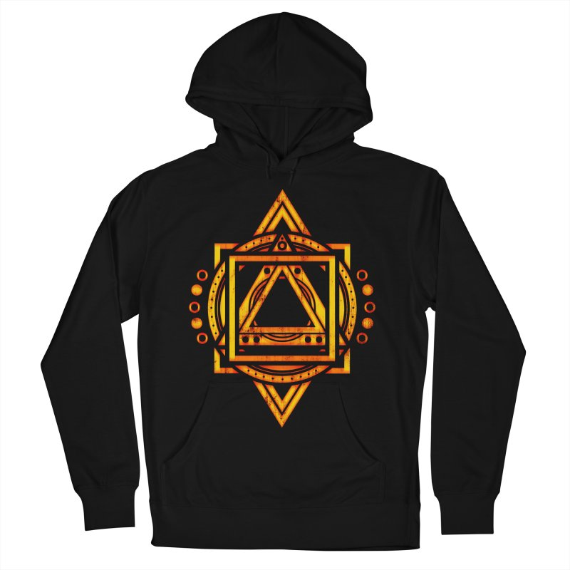 Metagalactic Lock (Recharged) Men's French Terry Pullover Hoody by inbrightestday's Artist Shop