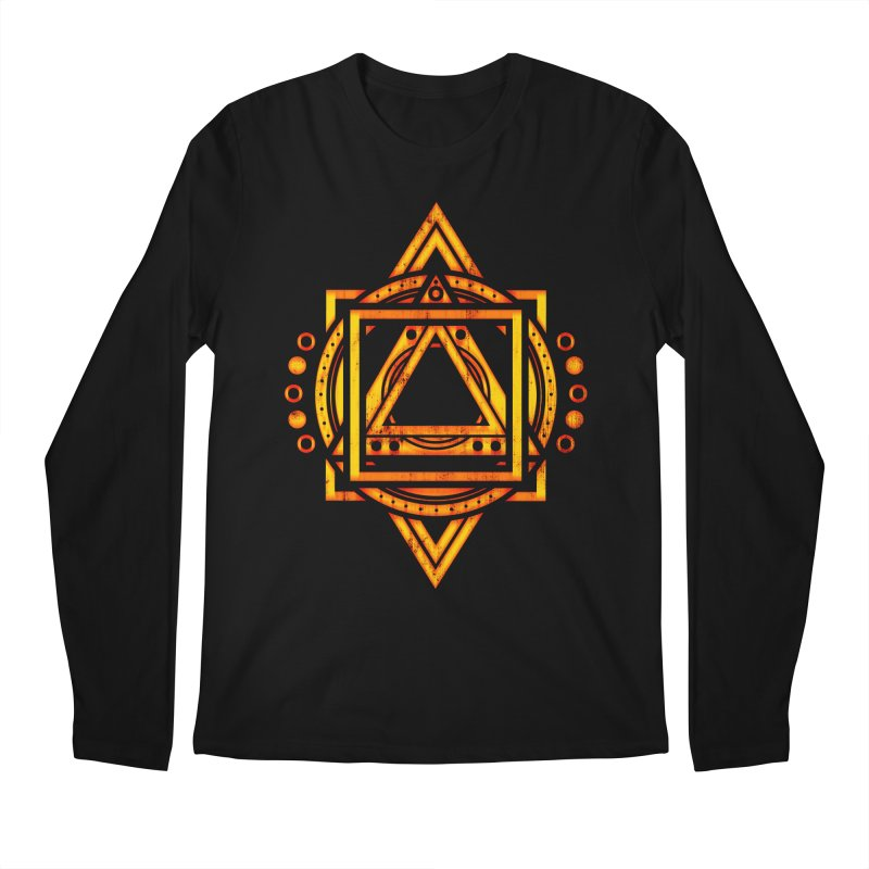 Metagalactic Lock (Recharged) Men's Regular Longsleeve T-Shirt by inbrightestday's Artist Shop