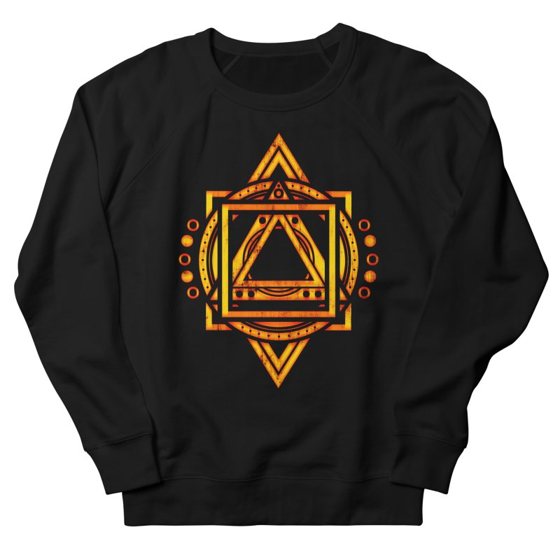 Metagalactic Lock (Recharged) Women's French Terry Sweatshirt by inbrightestday's Artist Shop