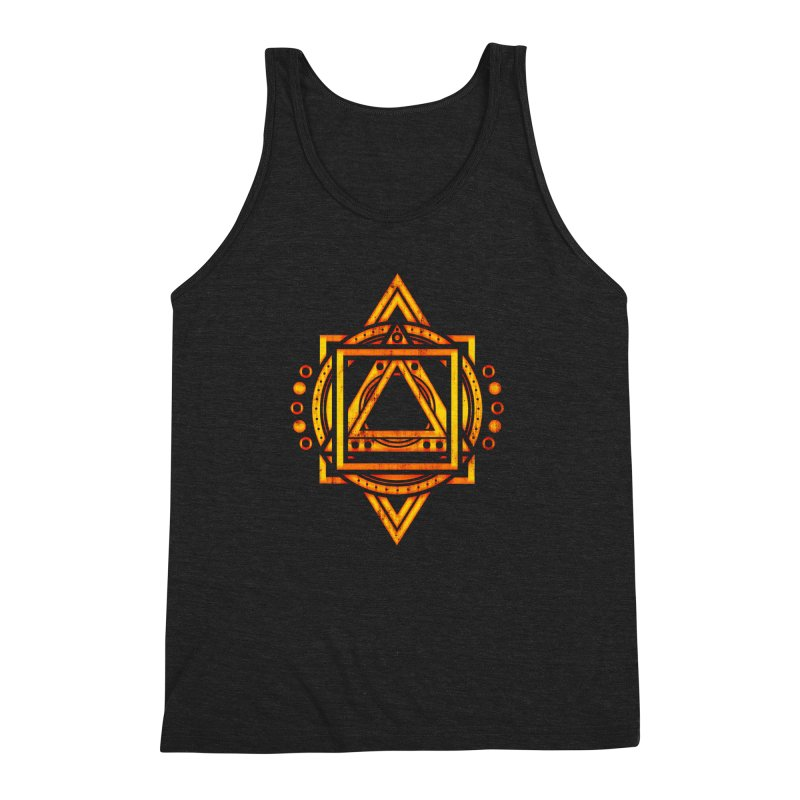 Metagalactic Lock (Recharged) Men's Triblend Tank by inbrightestday's Artist Shop