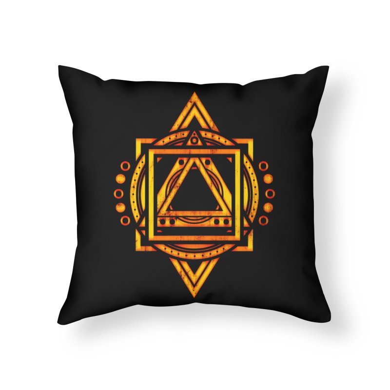 Metagalactic Lock (Recharged) Home Throw Pillow by inbrightestday's Artist Shop