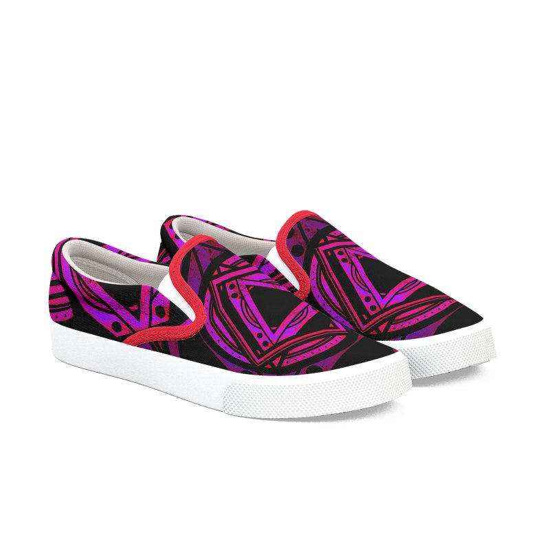 Interstellar Bolt Women's Slip-On Shoes by inbrightestday's Artist Shop
