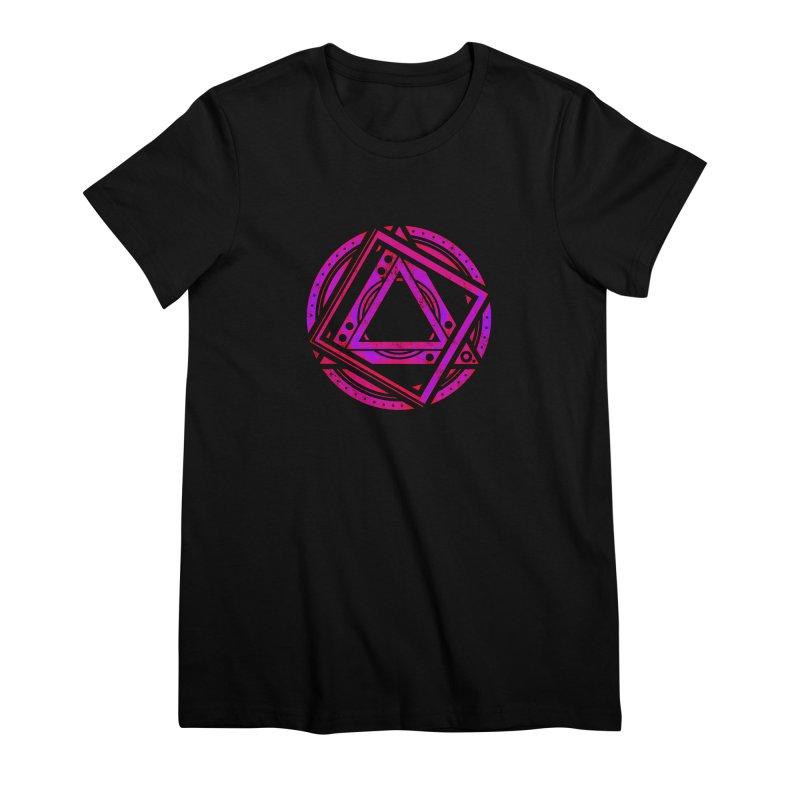 Interstellar Bolt Women's Premium T-Shirt by inbrightestday's Artist Shop