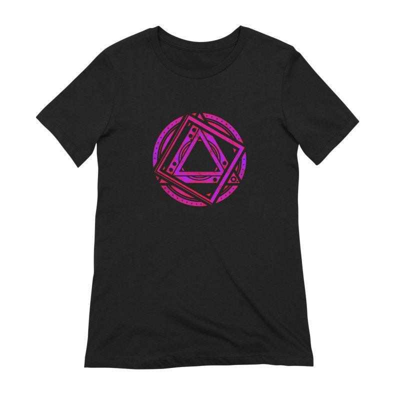Interstellar Bolt Women's Extra Soft T-Shirt by inbrightestday's Artist Shop
