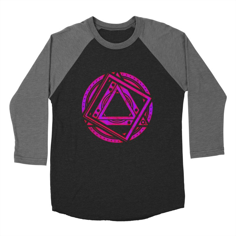 Interstellar Bolt Men's Baseball Triblend Longsleeve T-Shirt by inbrightestday's Artist Shop