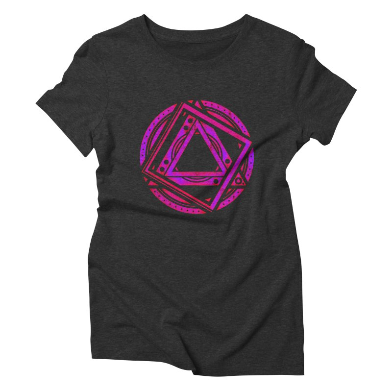 Interstellar Bolt Women's Triblend T-Shirt by inbrightestday's Artist Shop