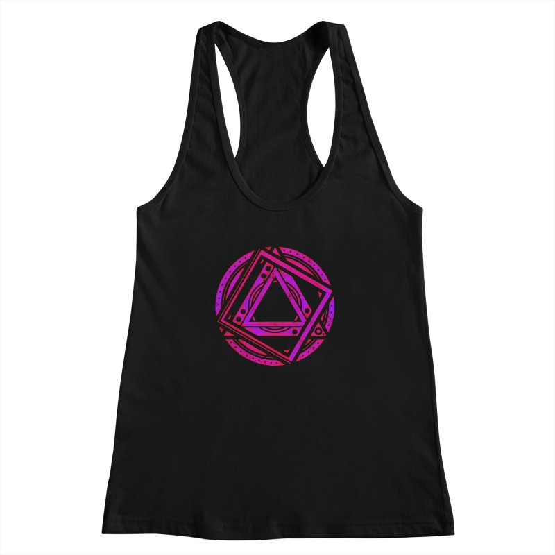 Interstellar Bolt Women's Racerback Tank by inbrightestday's Artist Shop