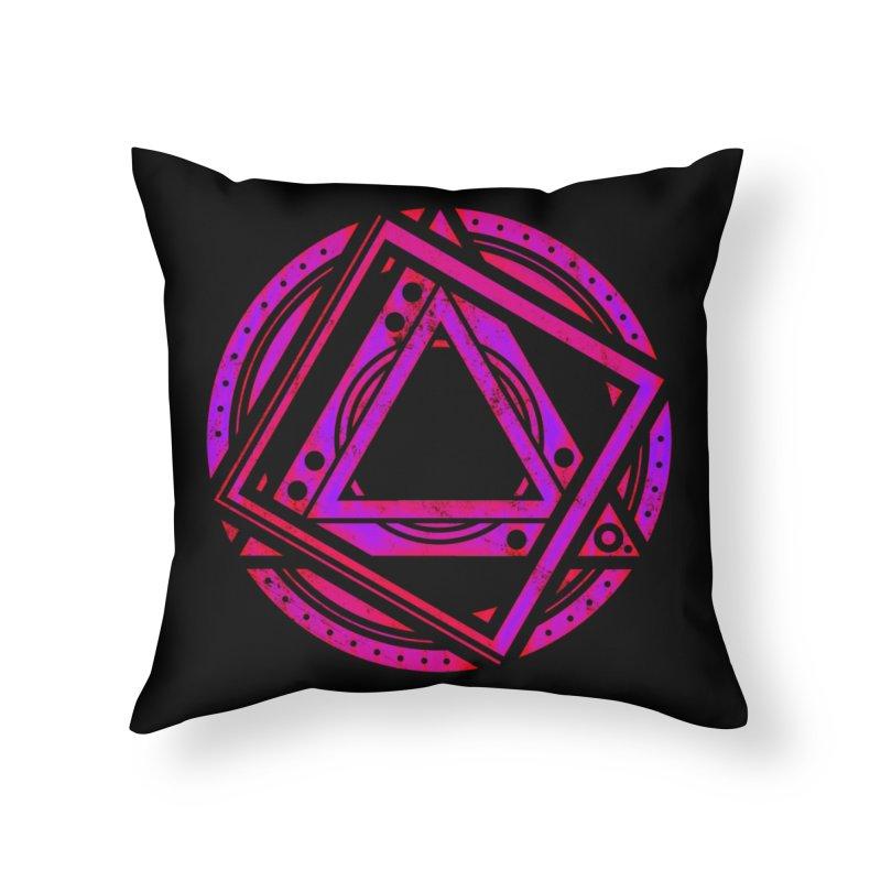 Interstellar Bolt Home Throw Pillow by inbrightestday's Artist Shop