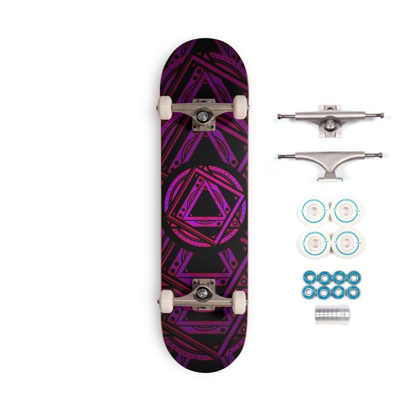 Interstellar Bolt Accessories Complete - Basic Skateboard by inbrightestday's Artist Shop