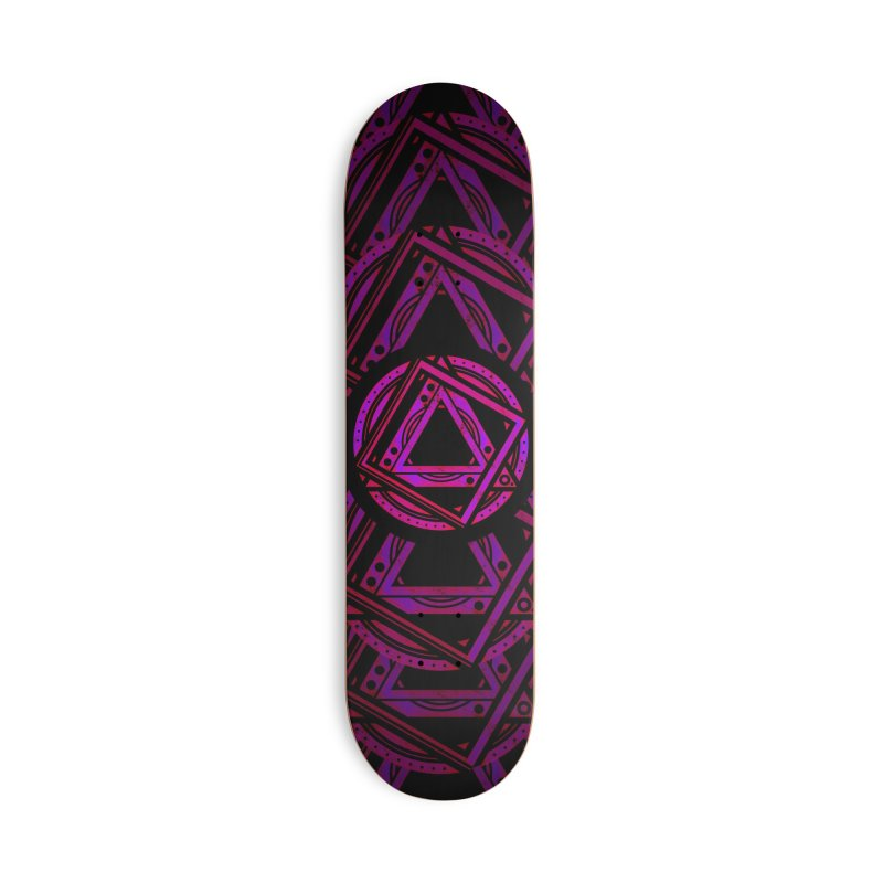Interstellar Bolt Accessories Deck Only Skateboard by inbrightestday's Artist Shop