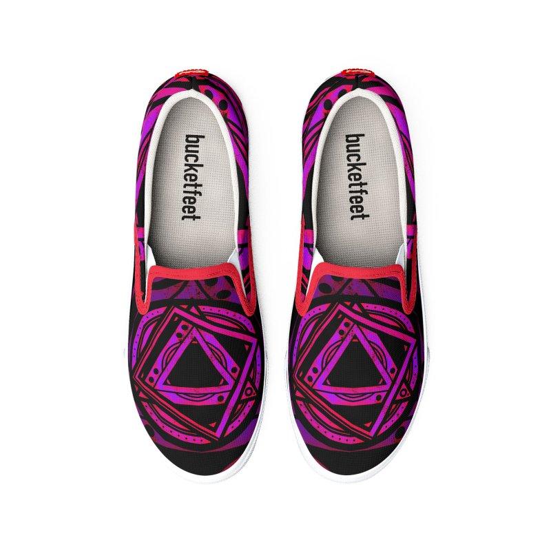 Interstellar Bolt Men's Shoes by inbrightestday's Artist Shop