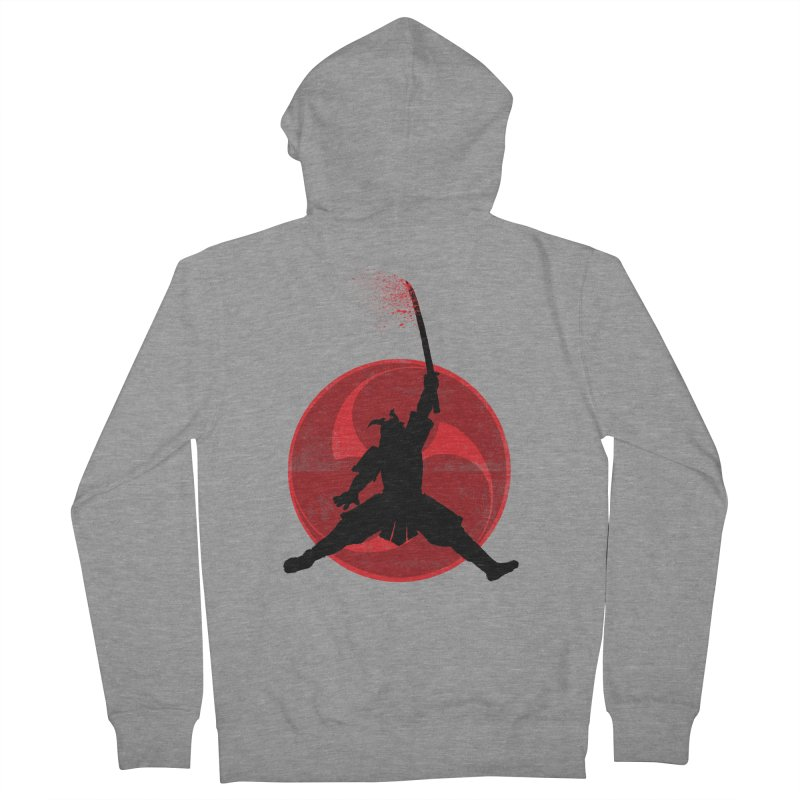 Slamurai Men's Zip-Up Hoody by inbrightestday's Artist Shop
