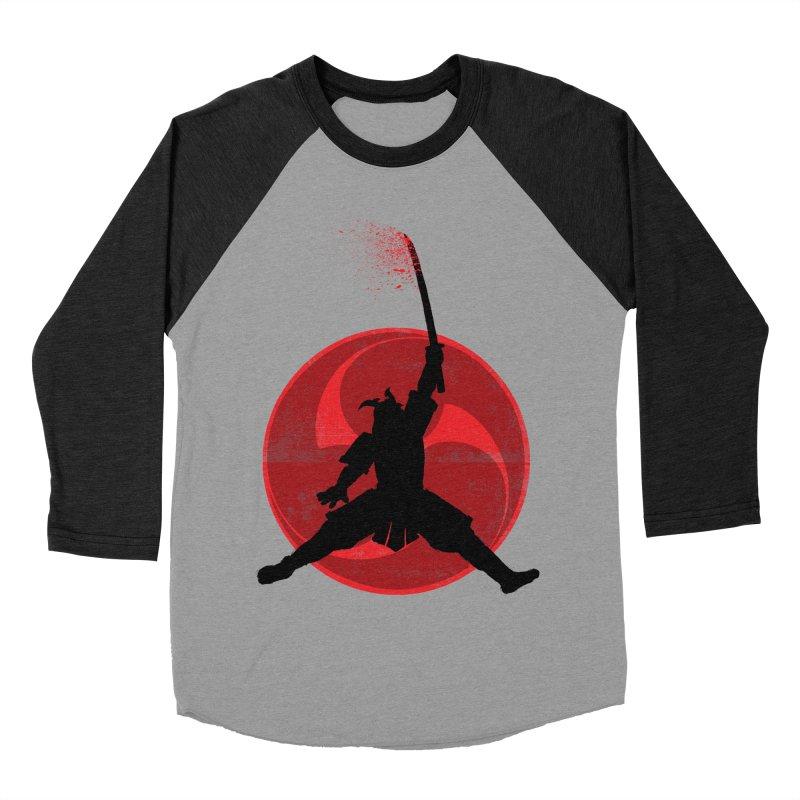 Slamurai Men's Baseball Triblend T-Shirt by inbrightestday's Artist Shop