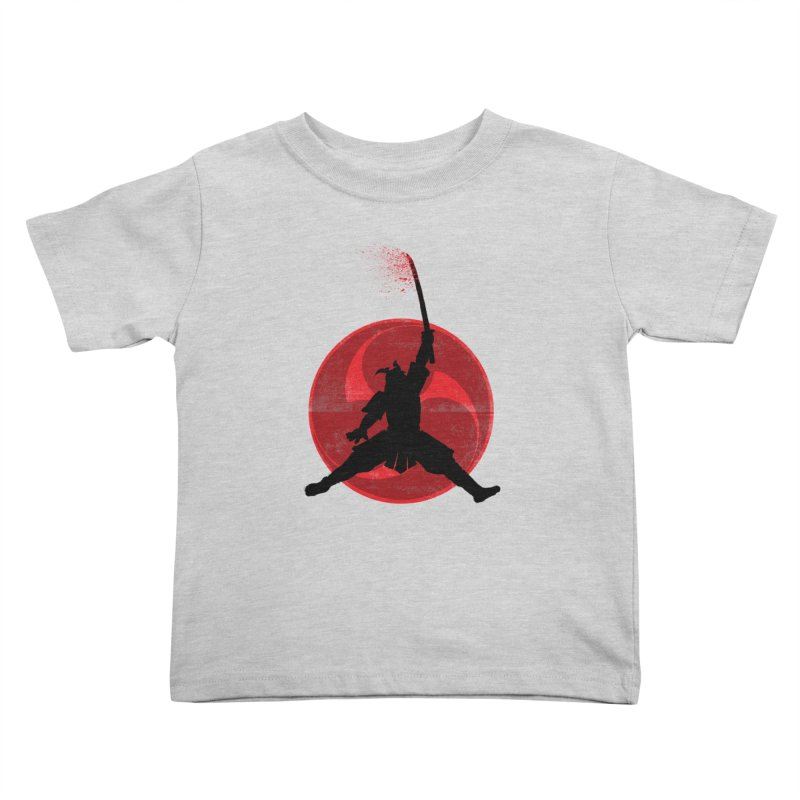 Slamurai Kids Toddler T-Shirt by inbrightestday's Artist Shop