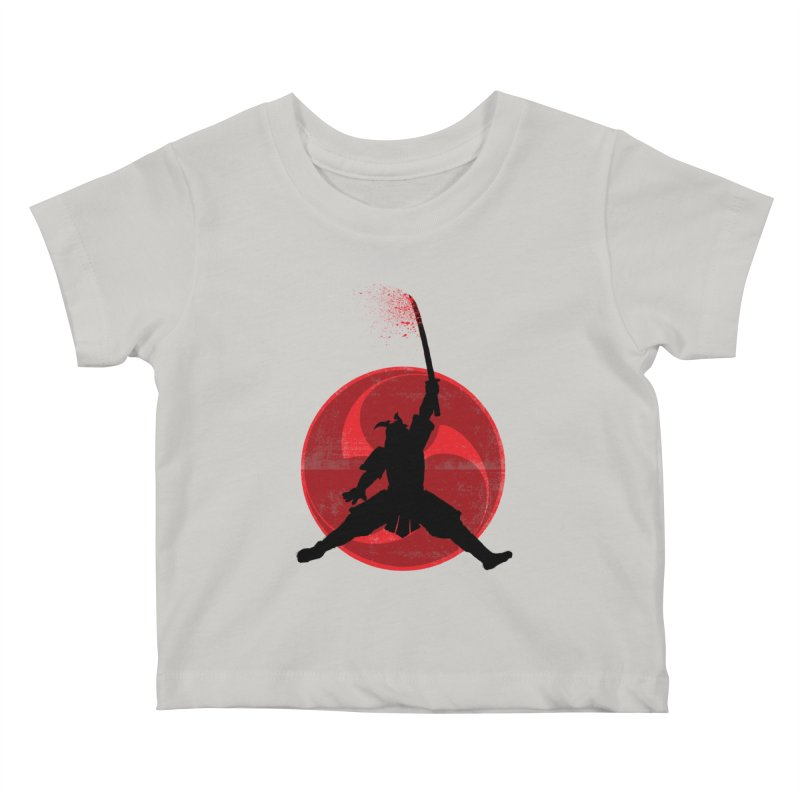 Slamurai Kids Baby T-Shirt by inbrightestday's Artist Shop